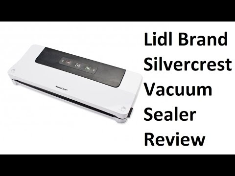 LIDLl silvercrest vacuum sealer for sous vide and food storage review