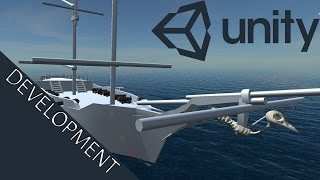 Unity 5 [water] Naval combat game WIP