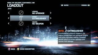 Battlefield 3 all Jet unlocks