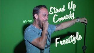 Stand Up Comedy de improviso com Biscui do Encrenca