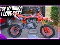 Top 10 Things I Love About My Chinese Dirt Bike Tao Tao DBX1 140cc Pit Bike