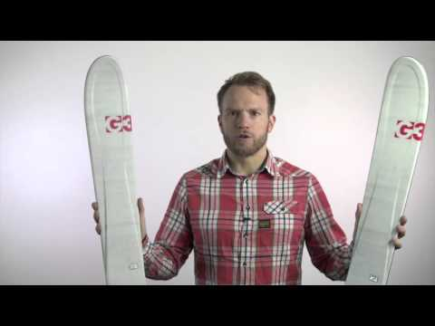 G3 2015 16 ZenOxide Carbon Fusion Skis HD