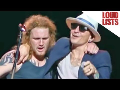 10 Drunkest Stage Crashers of All Time