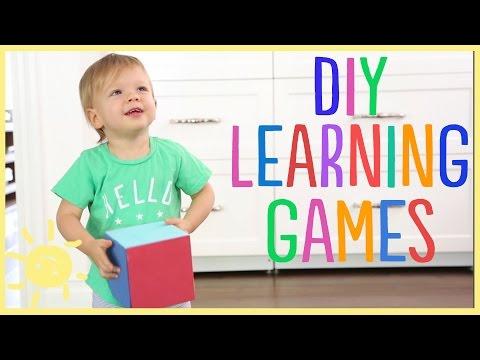 DIY | Developmental Games (Great For Toddlers!!)