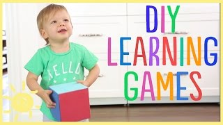 Diy | Developmental Games Great For Toddlers!!