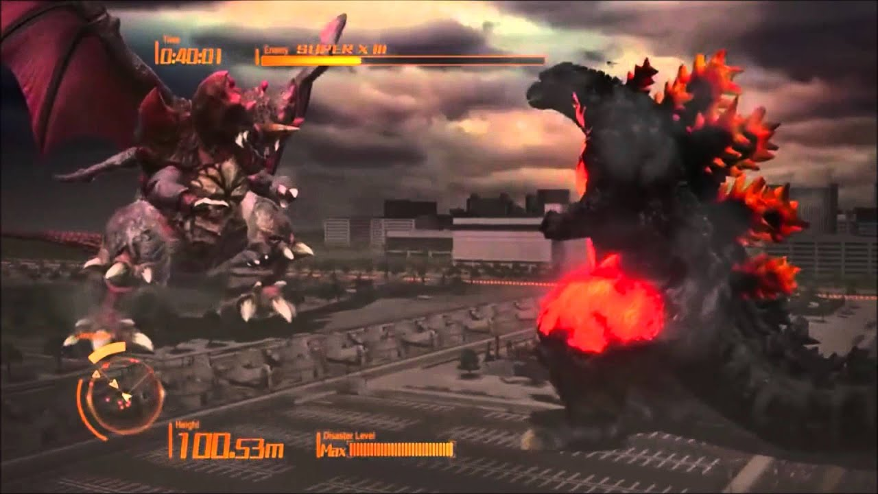 GODZILLA PS4: Burning Godzilla - YouTube