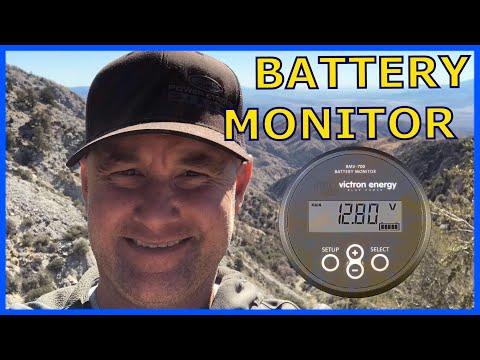 Victron Battery Monitor (install at 4:45)