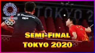 Ma Long VS Dimitrij Ovtcharov : Semi-Final Olympic Games Tokyo 2020