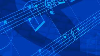 Background Overlay Music Notes Full HD