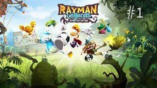 Rayman Legends #1 (NOOB) 2 KİŞİLİK OYNADIQ.