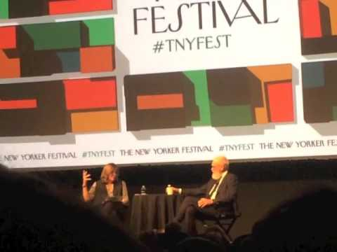 David Letterman at The New Yorker Festival, October 7, 2016