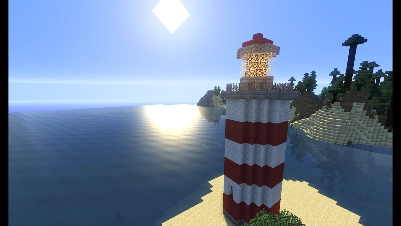 Minecraft Tuto Phare Youtube