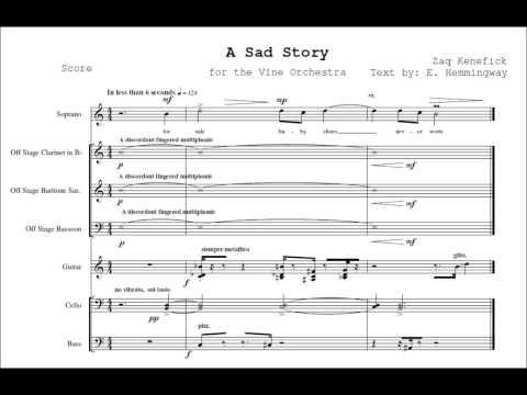 A Sad Story - Zaq Kenefick