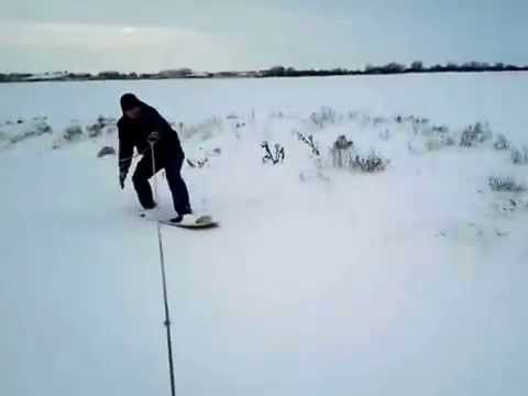 сноуборд из фанеры