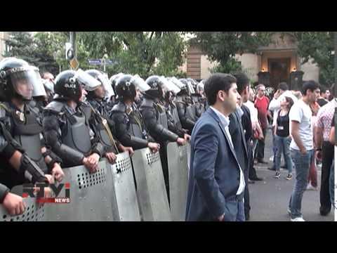 Электромайдан в Ереване: протест без