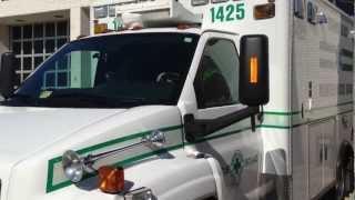 VA Beach Volunteer Rescue Squad Unit 1425 Responding to Cardiac Call off of Birdneck Road