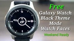 Galaxy Watch/Gear S3 Battery Saving Analog Watch Face