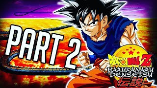 LET'S PLAY! Dragon Ball Z: Harukanaru Densetsu #2 - GOKU GETS TRAPPED IN HFIL!?