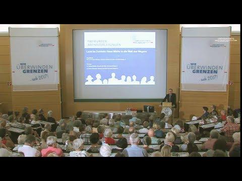 Neue Einblicke in die Welt des Magens - 2. Freiburger Abendvorlesung 2017