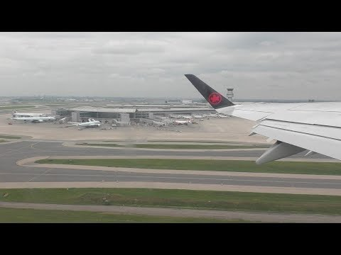 Air Canada Express Embraer 175 [C-FRQN] Onboard Takeoff from Toronto Pearson ᴴᴰ