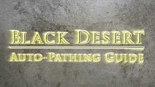 Guide: Black Desert AFK Leveling Guide Auto Path Strength Stamina Health Horse