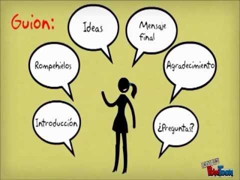Consejos para una presentaci n oral oyrprimaria3 youtube for Pasos para realizar una exposicion