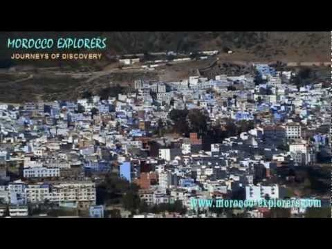 Chefchaouen the Blue Town in the Rif Mountains of Morocco