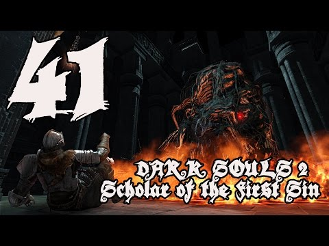 Dark Souls 2 Scholar of the First Sin - Walkthrough Part 41: Dragon Aerie