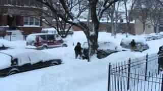 Chicago Weather - Blizzard of 02.2011.wmv