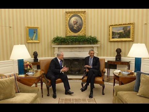 PM Netanyahu meets with US President Obama