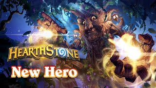 New Druid Hero - Dame Hazelbark Secret Interaction and Emotes (Hearthstone)
