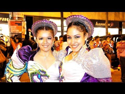 Bolivian Carnival in Barcelona.