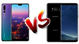 Huawei P20 Pro vs Samsung Galaxy S8   full comparison   