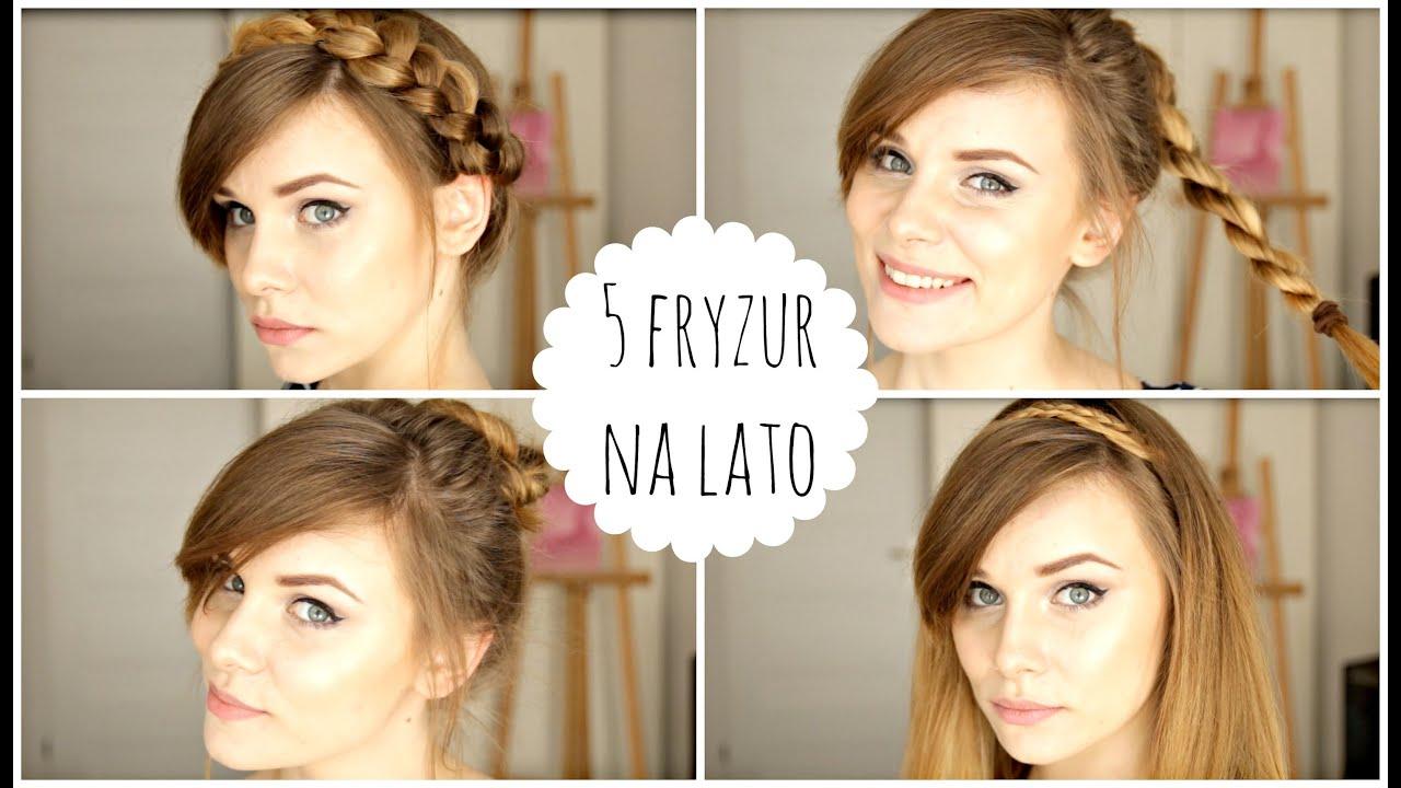 Fryzury Na Lato Hairstyles Marka