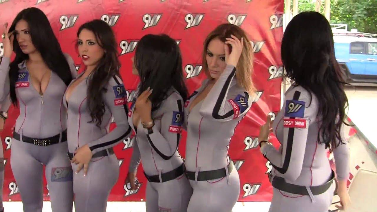Chicas de 911 autoshow la furia de dr mecanico 7