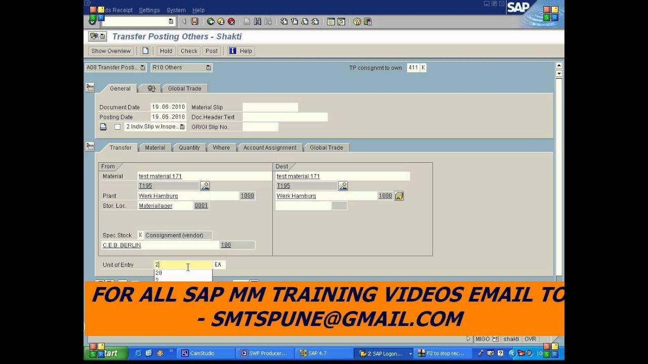 SMTSPUNE@GMAIL COM - SAP MM CONFIGURATION CUSTOMIZATION ONLINE VIDEO  TRAINING 1 SMTSPUNE@GMAIL COM