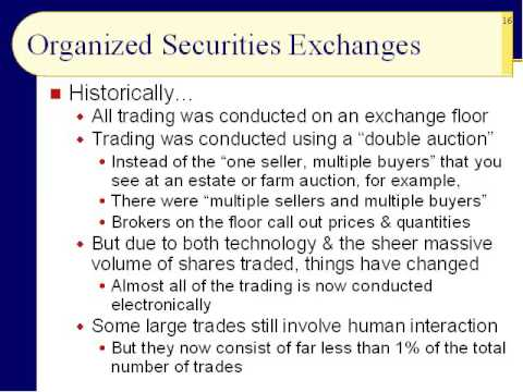 BUS123 Chapter 05 - Stock Markets (a.k.a. Capital Markets) - Slides 11 to 33