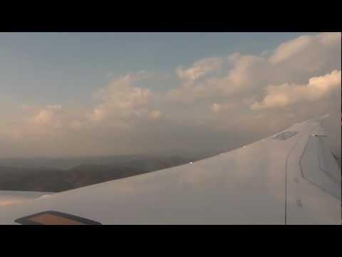 B787 Landing @ Okayama airport