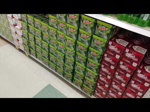 Inside a kroger grocery mart USA grocery store
