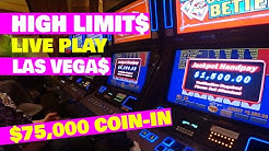 Video Poker - HIGH LIMIT LIVE PLAY