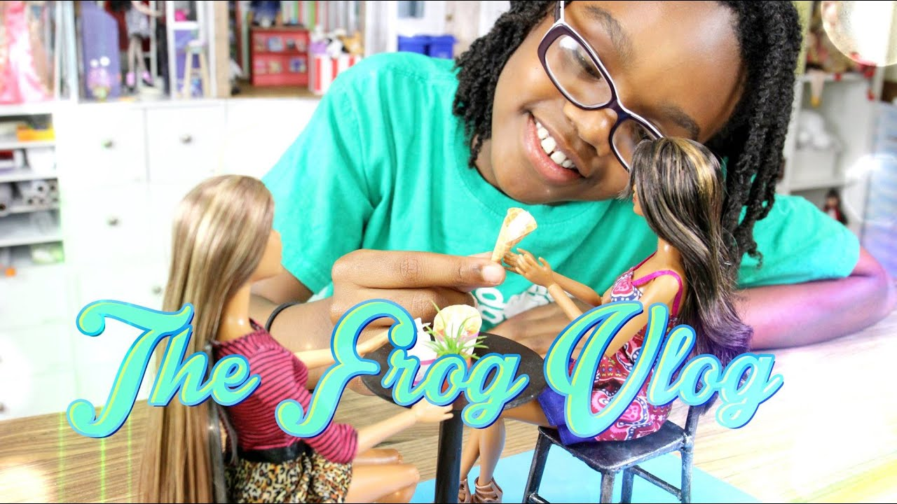 Diy The Frog Vlog Behind The Scenes Doll Froyo Youtube