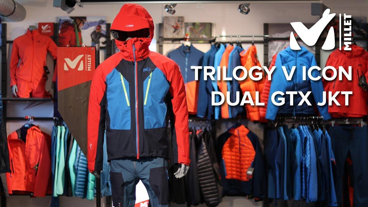 info for 235c7 daac7 Millet : Trilogy V Icon Dual GTX Jkt