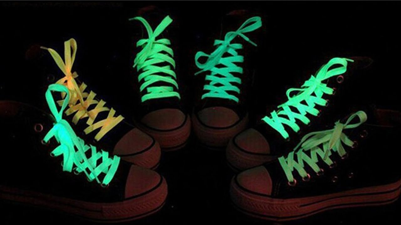 1028a57f54b9 Luminous Shoelace Glow In The Dark - Unboxing - YouTube