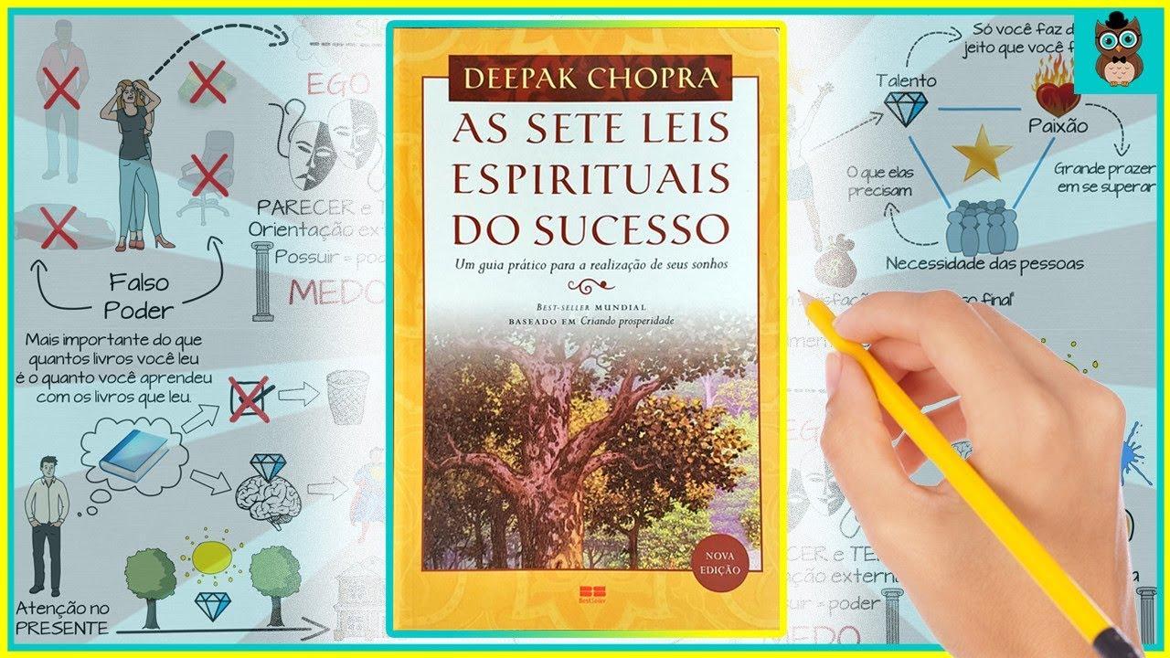 As Sete Leis Espirituais Do Sucesso Deepak Chopra Resumo