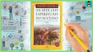 AS SETE LEIS ESPIRITUAIS DO SUCESSO | Deepak Chopra | Resumo Animado