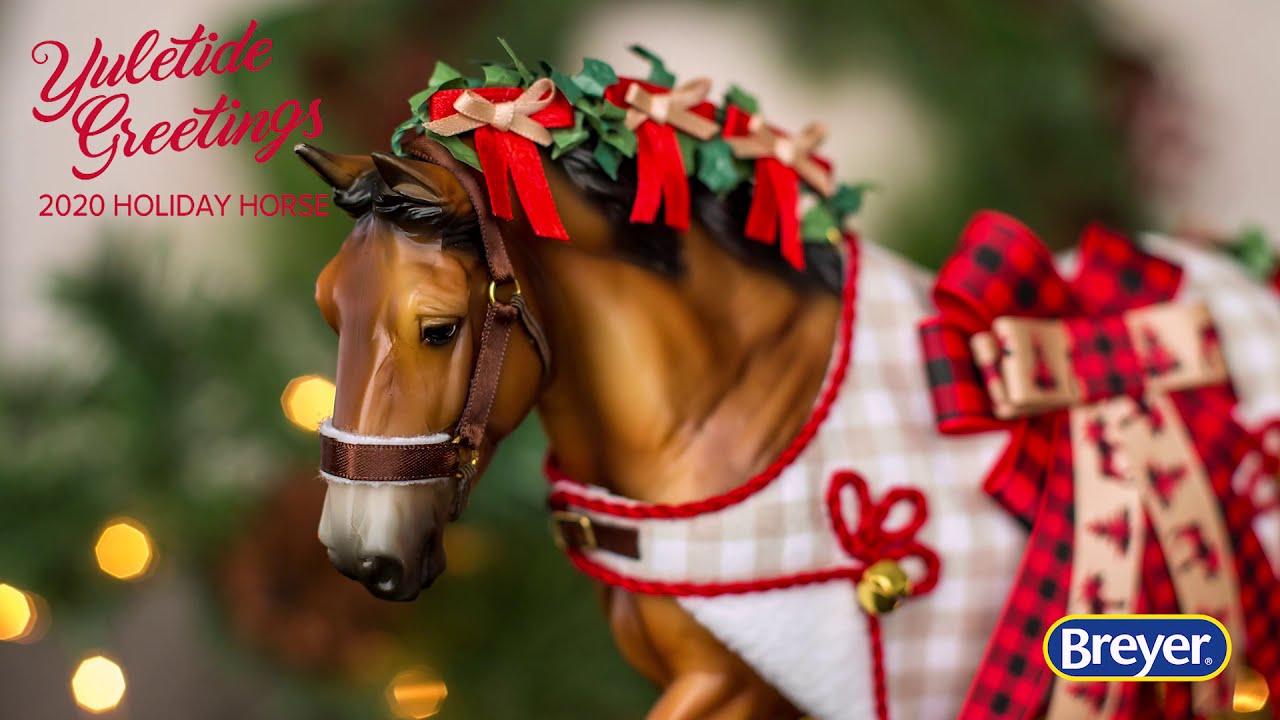 Breyer 1492746 Yuletide Christmas Horse Shire Gelding 2020 Christmas In Stock!