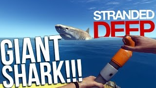 One of Draegast's most viewed videos: Let's Play Stranded Deep Part 7 - Hacking and Modding! - GIANT SHARK! - Stranded Deep Gameplay