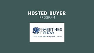 the meetings show London - Buyer Program Promo by EVINTRA