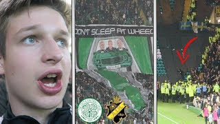 CELTIC DESTROY AIK and THEIR ULTRAS KICK OFF... | Celtic vs AIK Vlog