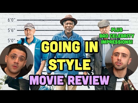 Going In Style Movie Review (2017)